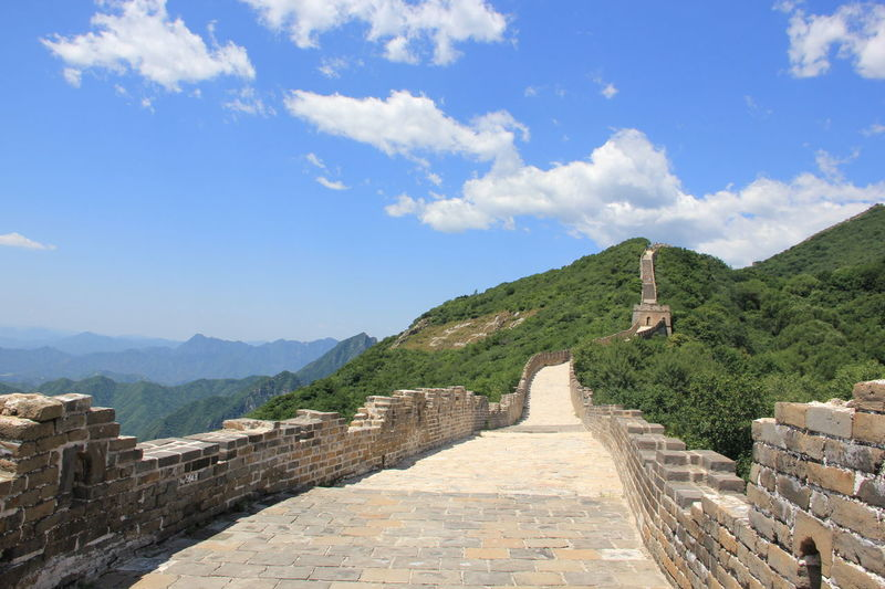 China Landscape Great Wall Great Wall Of China Ancient Civilization Architecture Built Structure China China Landscape Chinese Day History Nature Outdoors Sky Tourism Travel Destinations