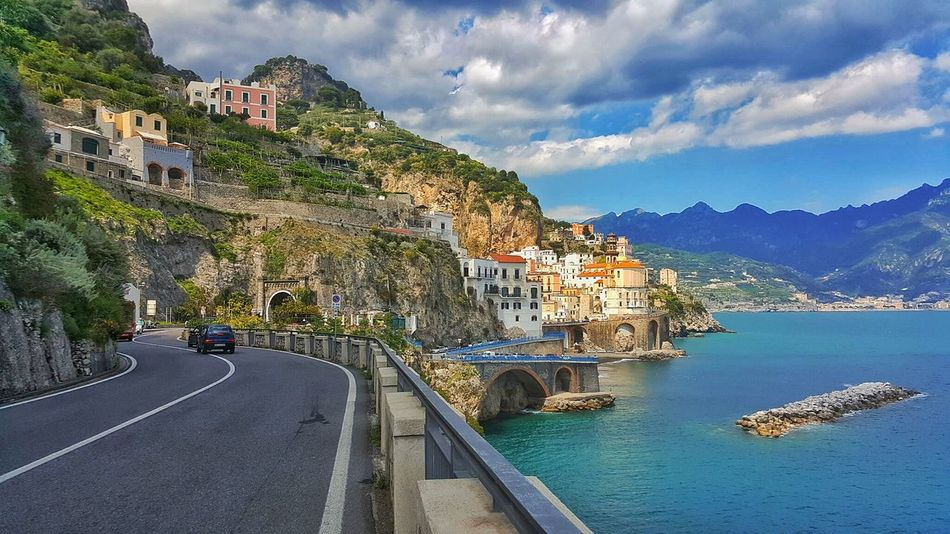 Amalfi Coast Italy Road