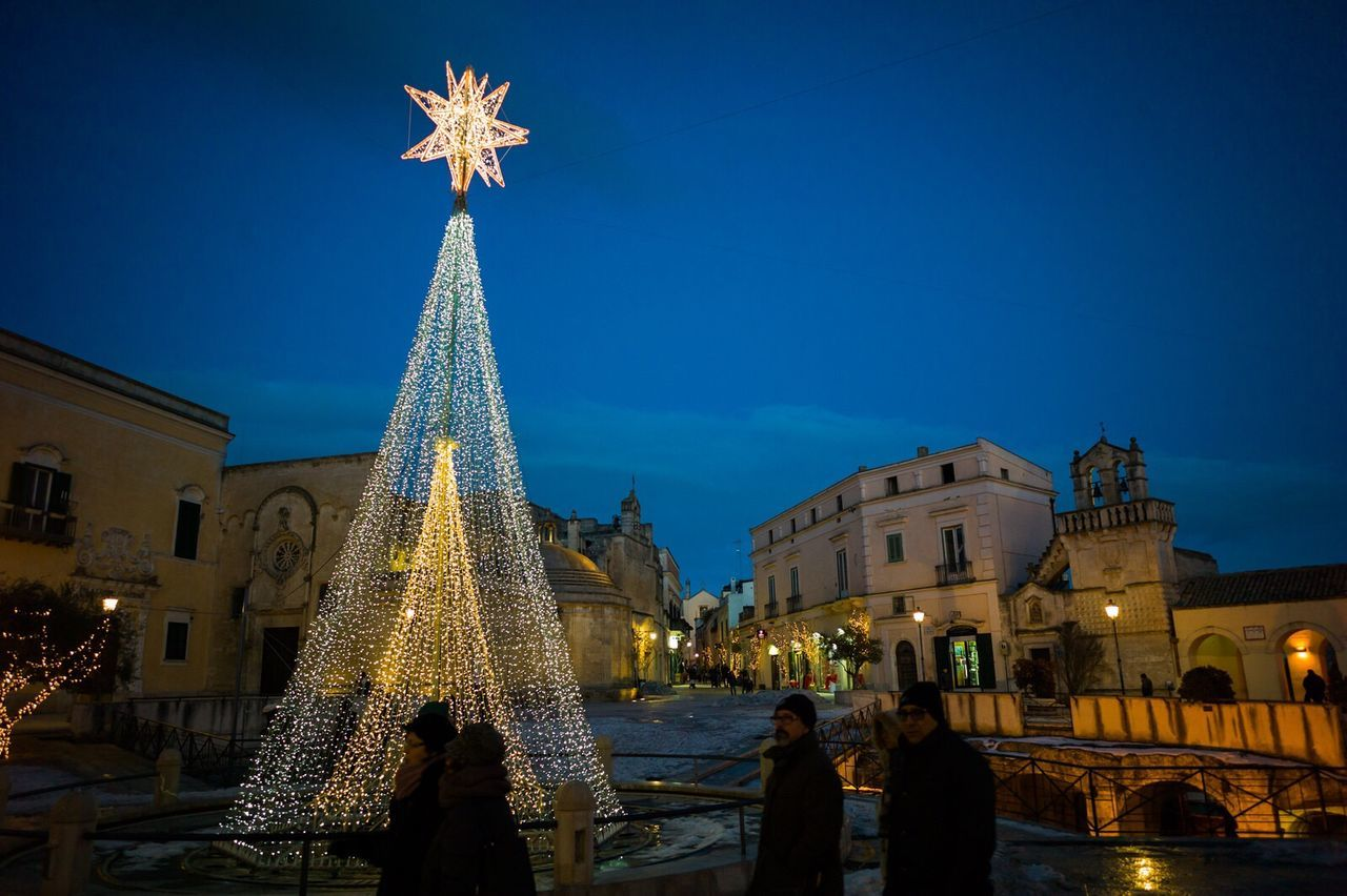 Assisidimatera Matera2019 Matera Italy Italia Architecture Christmas Christmas Decoration Illuminated Christmas Lights Celebration Travel Destinations Tourism Night History City Leicacamera Assisi