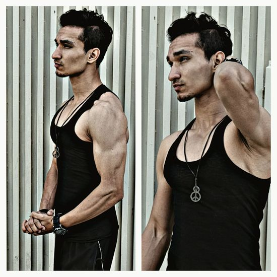 Black is good! Black Highstreetfashion Hotlook Workout Gym GymLife Diet Pakistan Street Fashion Quetta