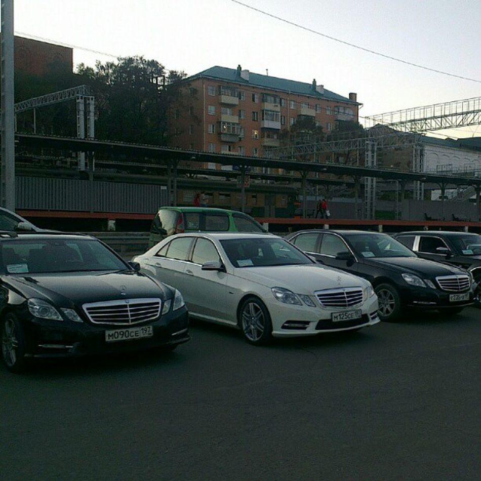 Мерседесы для гостей  саммит а.  Владивосток APEC2012