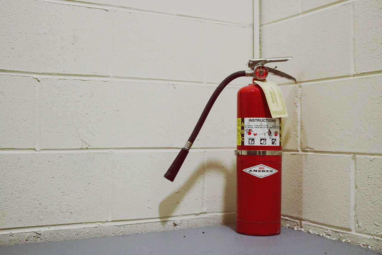 For your safety... Red Fire Safety Safetyfirst