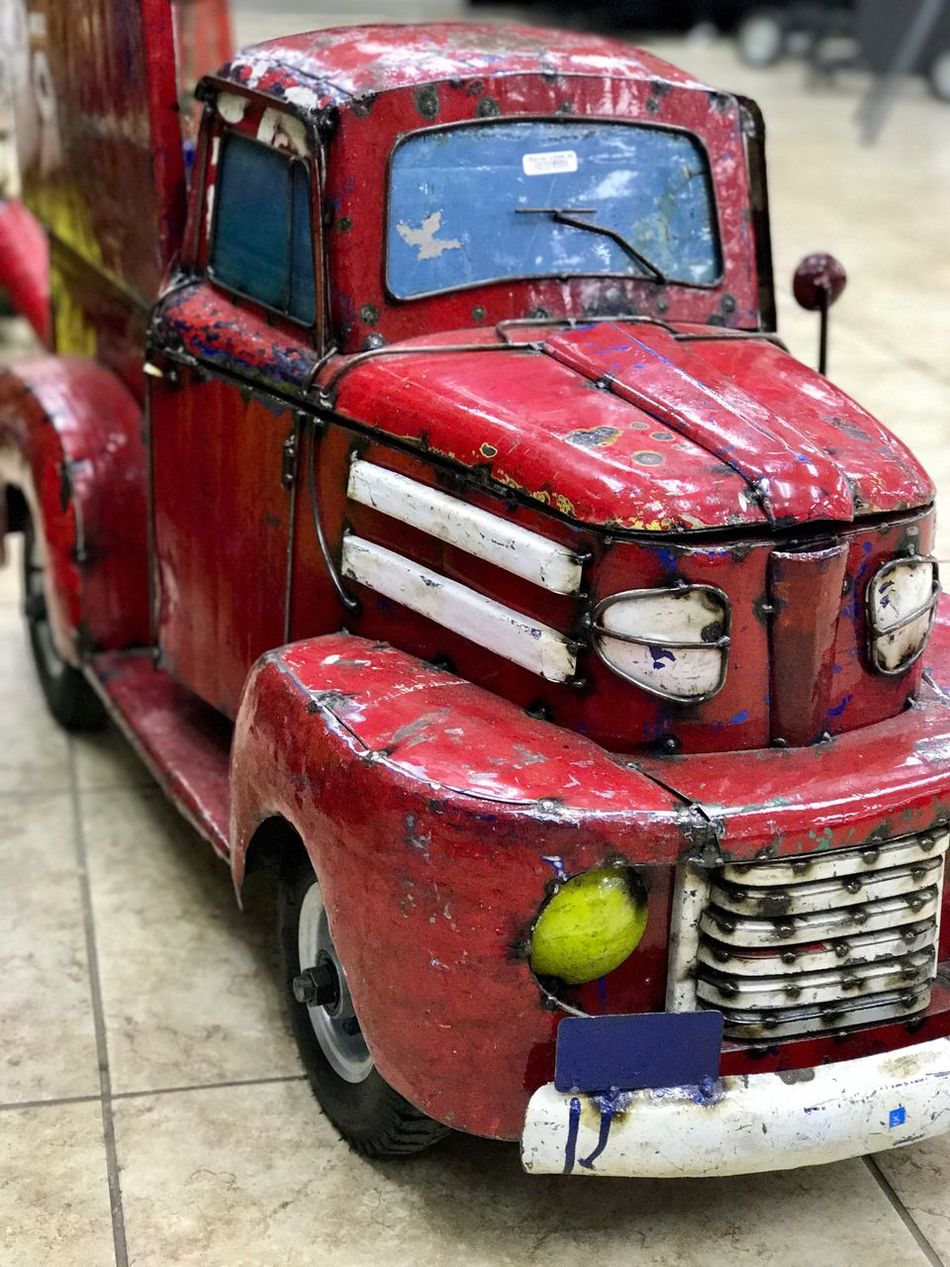 Red Multi Colored Day Outdoors No People Buc-ee's Buc-ees Christian Kustomz 3XSPUnity Check This Out Market For Sale Close-up Yard Art Handmade Truck