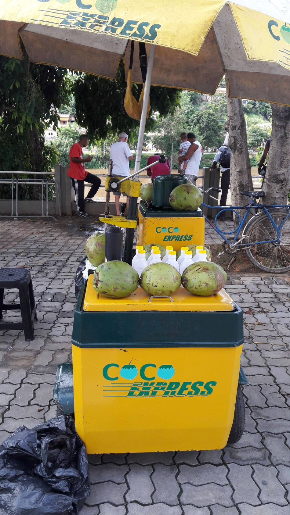 Yellow People Day Outdoors Coconut Water 🌴🌞 Business Lunch Food And Drink