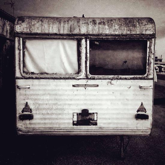 Urban Urban Decay Caravan Fear Vintage Vintage Cars Old Window Blackandwhite Monochrome Streetphotography Street 2016 EyeEm Awards