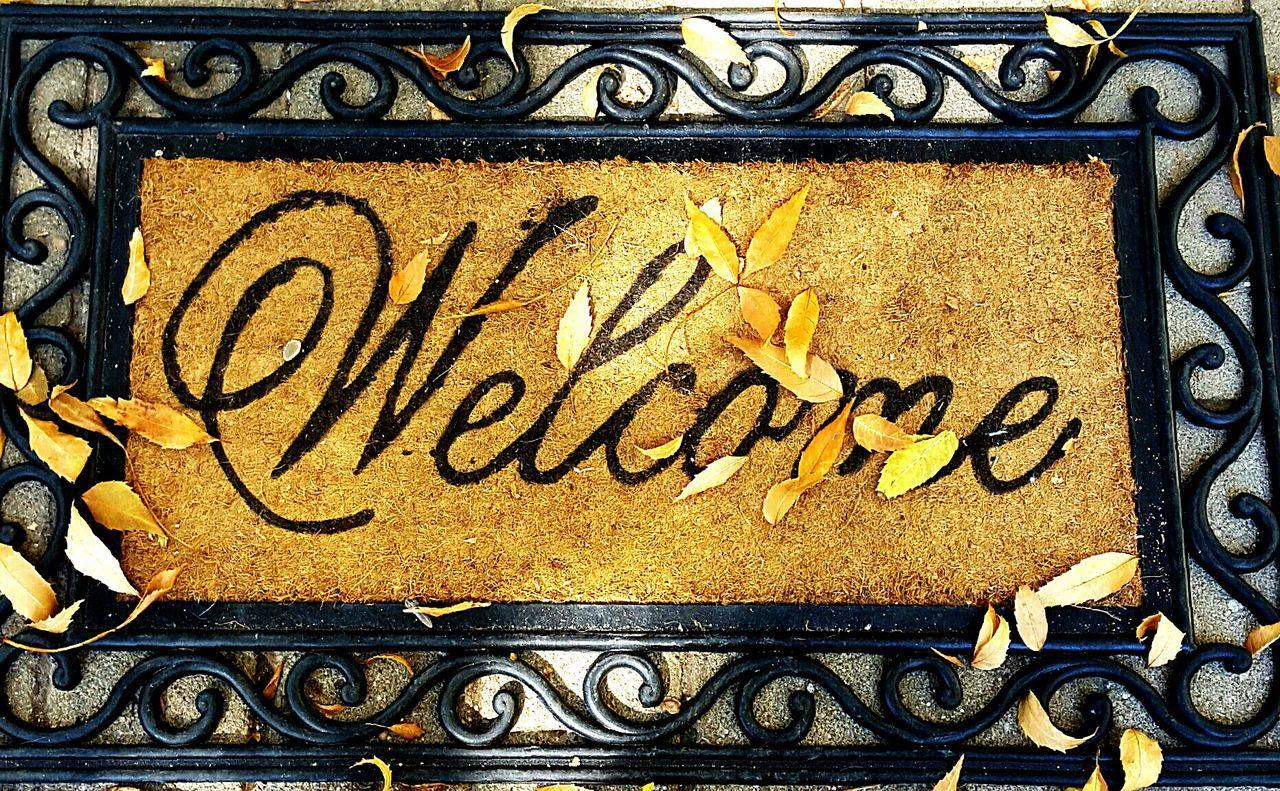 Welcome to Autumn Welcome To Autumn Autumn Collection Autumn🍁🍁🍁 Welcome Door Mat