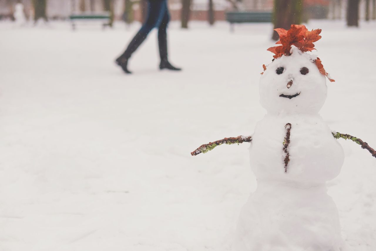 Beautiful stock photos of schneemann, Berlin, Cold Temperature, Day, Focus On Foreground