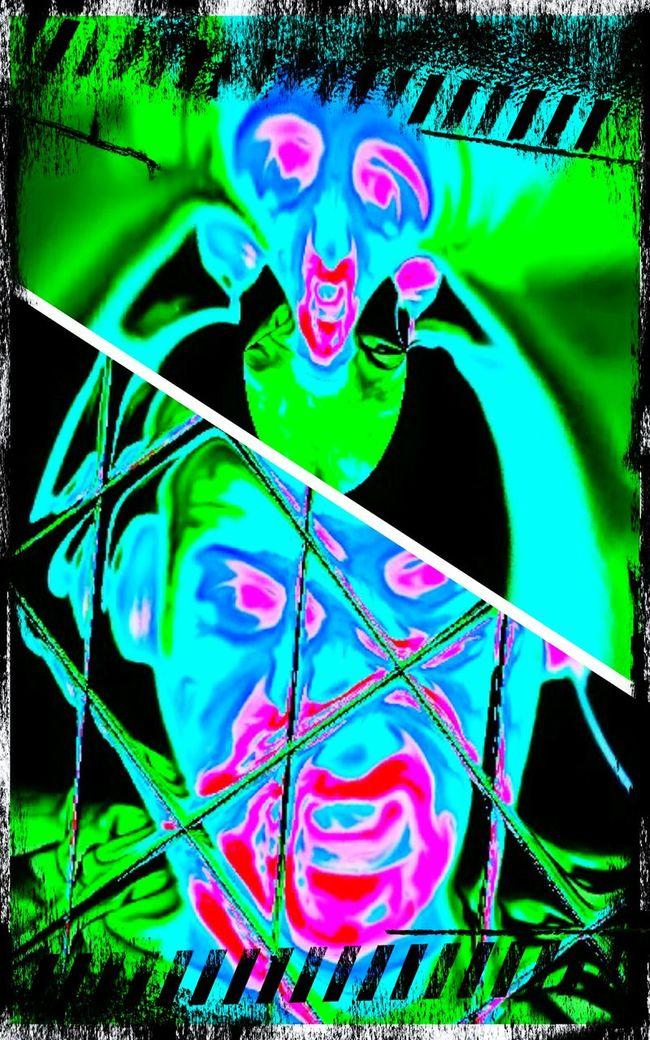 Paranoia Tonibriz Tonibrizm Tonibm That's Me Hi! Paranoia Picksart Colorfull