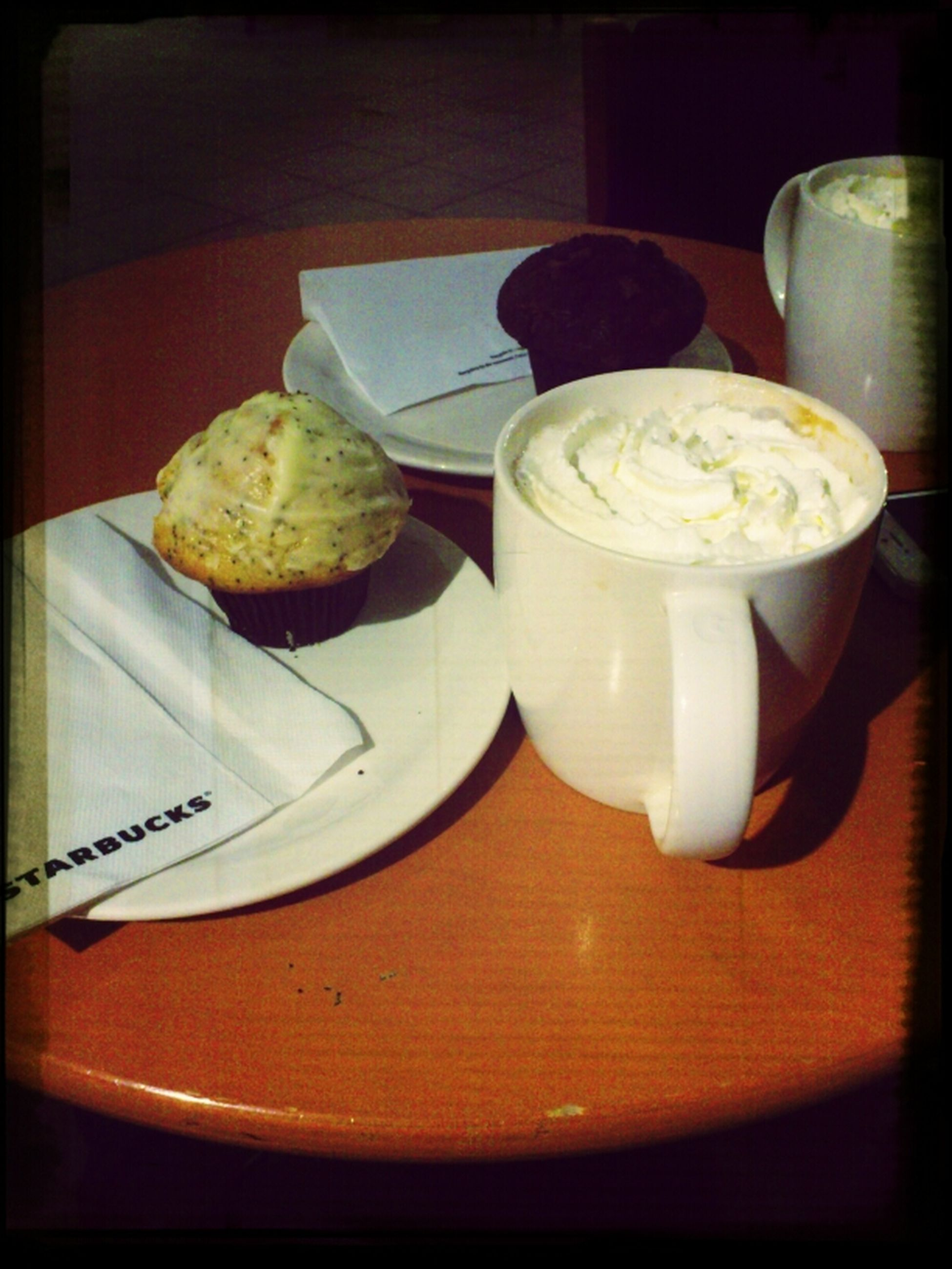 Sunday evening !!!with muffins!!