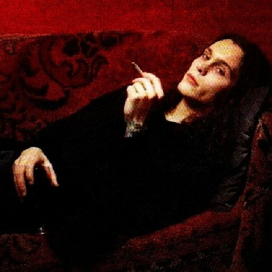 MCM is Ville Valo because wow, and HIM happens to be one of my favorite bands. ?❤ Villevalo Him