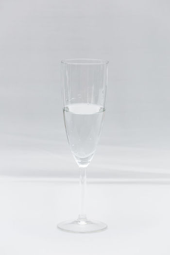 Beverage Champagne Glass Close Up Close-up Drink Focus On Foreground Glass Liquid Minimalism Refreshment Simplicity Sparkling Sparkling Water Still Life Summer Water Wedding White White Background