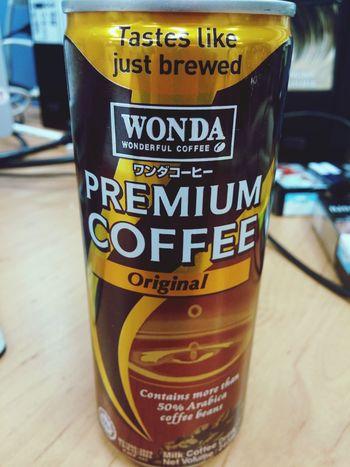 Tastes like just brewed.. Coffee