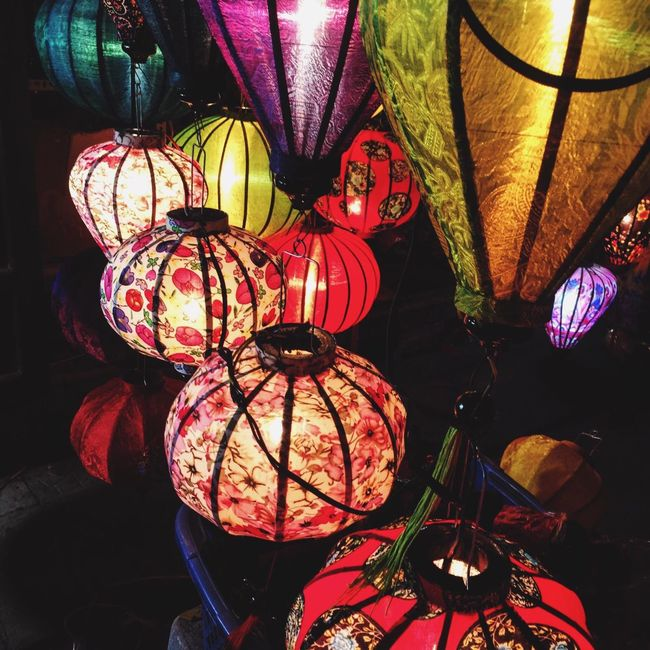 Hoi An Vietnam Vacations Travel Travel Destinations Lanterns Beautifulnight