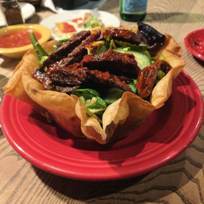 Food Mexicanfood Salad Tacosalad