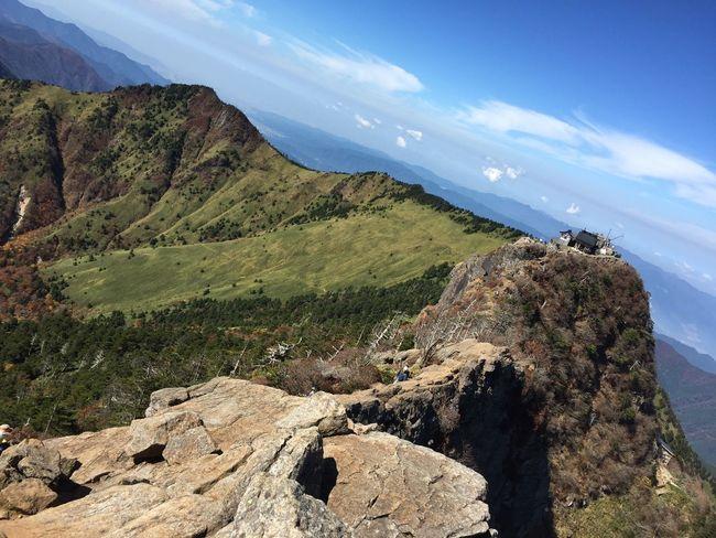 愛媛 石鎚山 山が私を呼んでいる
