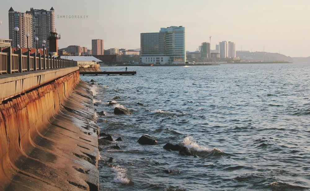 Vladivostok владивосток Sea Море City город набережная Embankment Canon550 красота