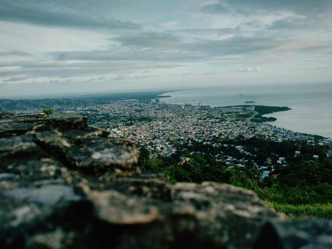View from Fort George. Sky City Day Cliff Nature Scenics Horizon Water No People Beauty In Nature