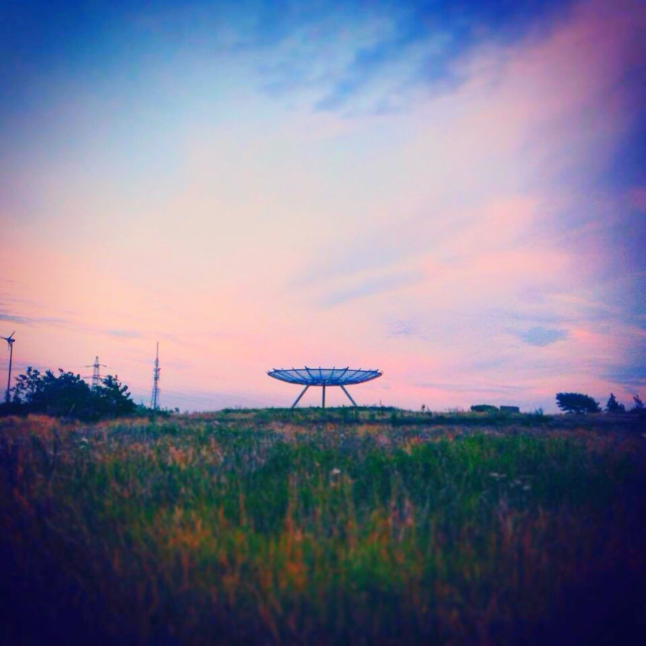 Picoftheday Haslingden Halo Rossendale Panopticon Landscape_photography Structure And Nature Taking Photos Clouds And Sky Colors Beautiful Day SpaceShip Tranquil Scene