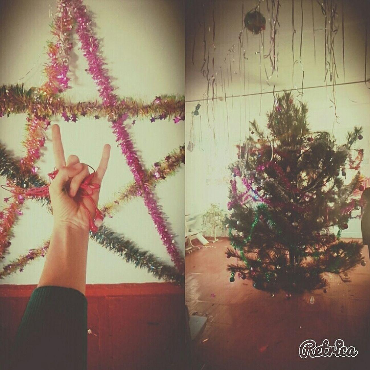 подготовка к новому году в школе)) Новый год