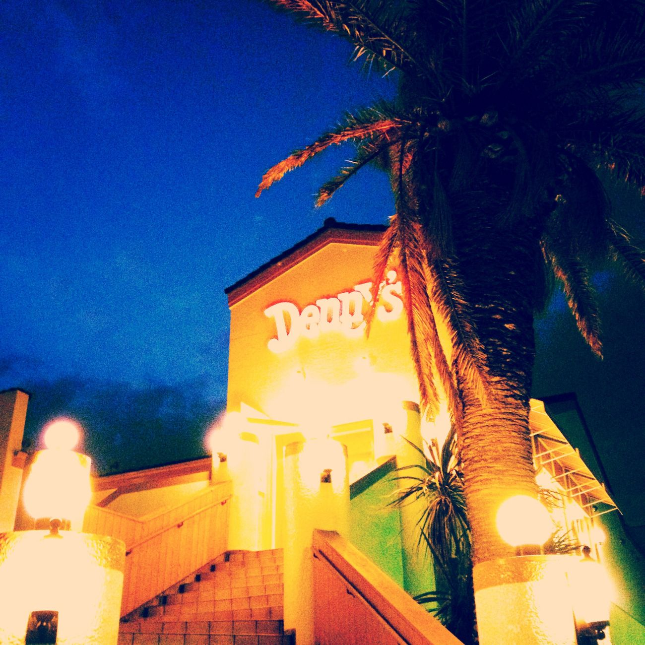 Denny's デニーズ森戸海岸店 IPhoneography Sky_collection Hayama
