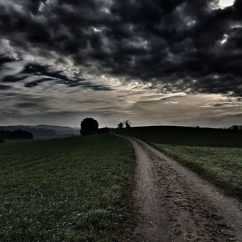 Naturelovers Outdoors Beauty In Nature Cloud - Sky Landscape Storm Nature Switzerland Nänikonswitzerland NatureReserve My Path The Way Forward