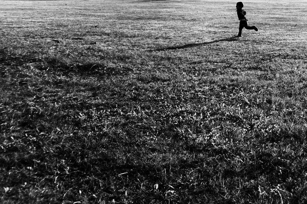 Breathing Space One Person Real People Walking Field Day Leisure Activity Lifestyles Grass Outdoors Full Length Childhood Children Only Nature People Streetphotography Maklumfoto EyeEmNewHere The Week On EyeEm