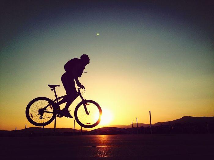 Enjoying The Sunset ThatsMe Bike Week Heartbeat Moments