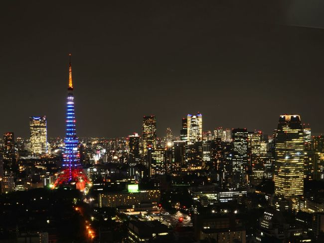 Tokyotower Samuraiblue Tokyo Night View