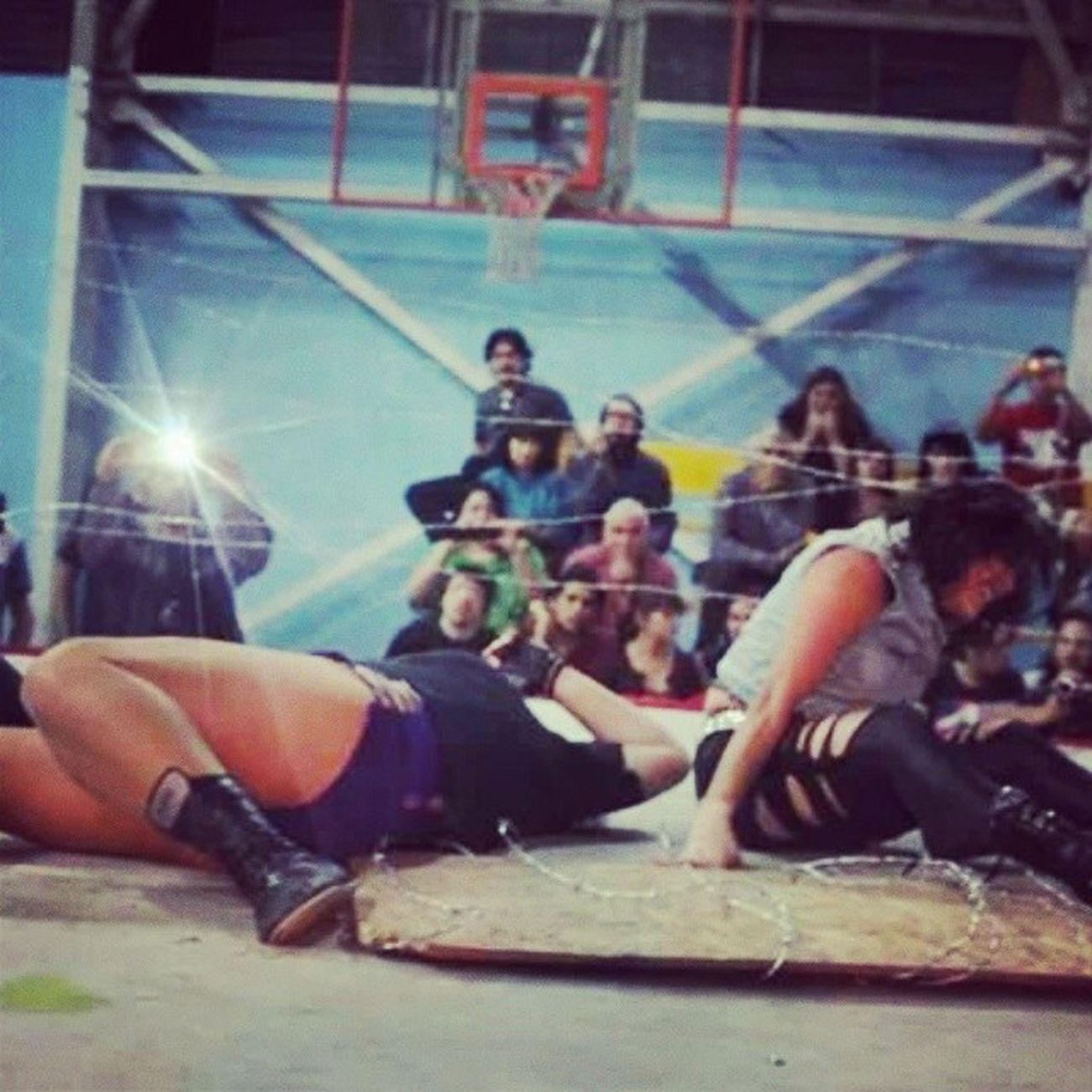 Engel vs Domina última lucha ?!?! Xnl Alambredepuas wrestling