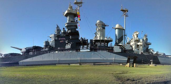 The beautiful USS NORTH CAROLINA BATTLESHIP Check This Out Enjoying Life Beautiful ♥ Battleship North Carolina Ussnorthcarolina Photography Breathtaking Historical Ship