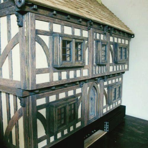 Tudor dollshouse project american oak twelfth scale Etsy Miniatures Carpentry American Oak Hello World