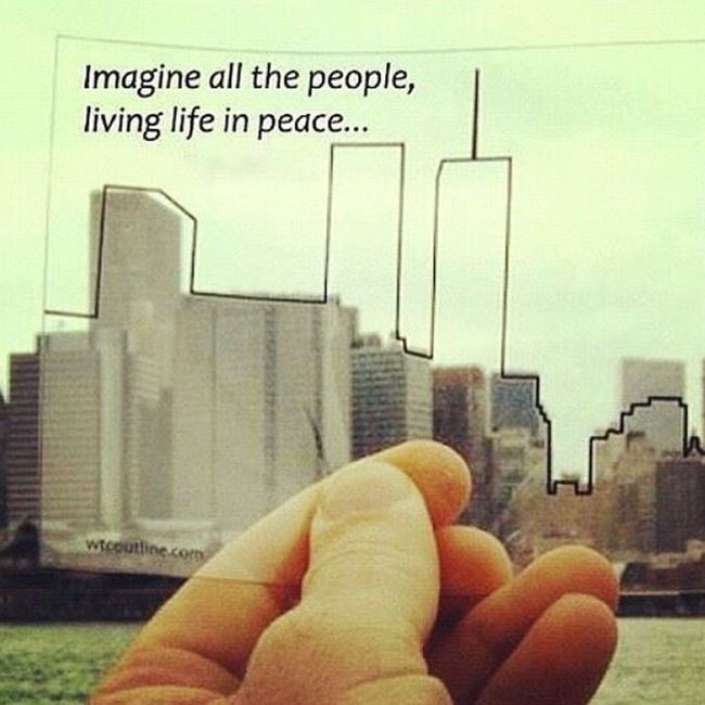 NeverForget 14years 911memorial 14 years ago today. May weneverforget 😔