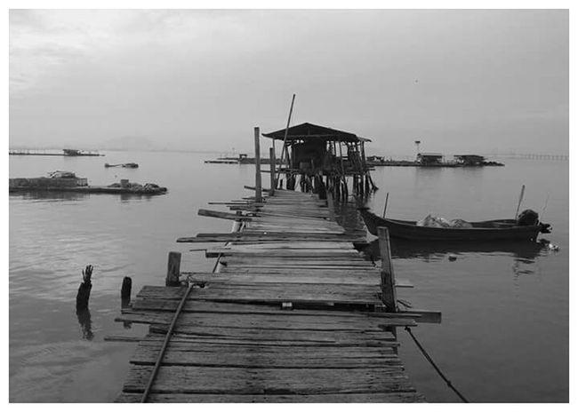 Kampung House Vilage House Malaysia Pulau Pinang Blackandwhite Photography Asuszenfone2 Gadiskakitravel Traveller_malaysia