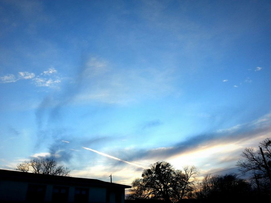 A soft blue, like an inverted shore in the sky illuminated by distant sentiments smoldering on the other side; another world reflected in the heavens. It is not sad. It does not make me sad. But still, I want to cry. Moody Soft Light Pastel Blue Winter Sky After Sunset