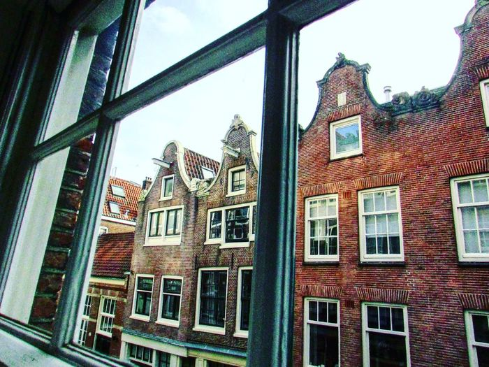 Amsterdam Canal Architecture Window No People Building Exterior  In Out Lines And Shapes Stefanovalsecchi Be. Ready. EyeEmNewHere The Graphic City