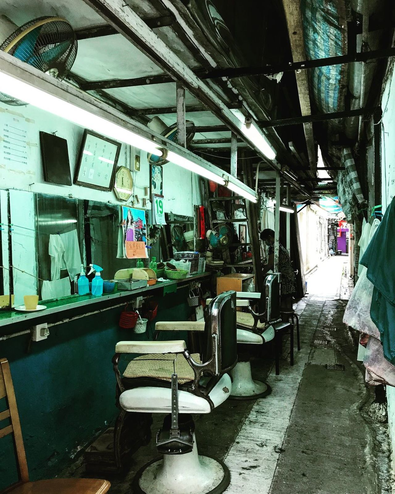 Kowloon City Cutural Day Hong Kong Hong Kong Culture Hong Kong Kowloon City Indoors  No People Salon Train - Vehicle Transportation Vehicle Seat