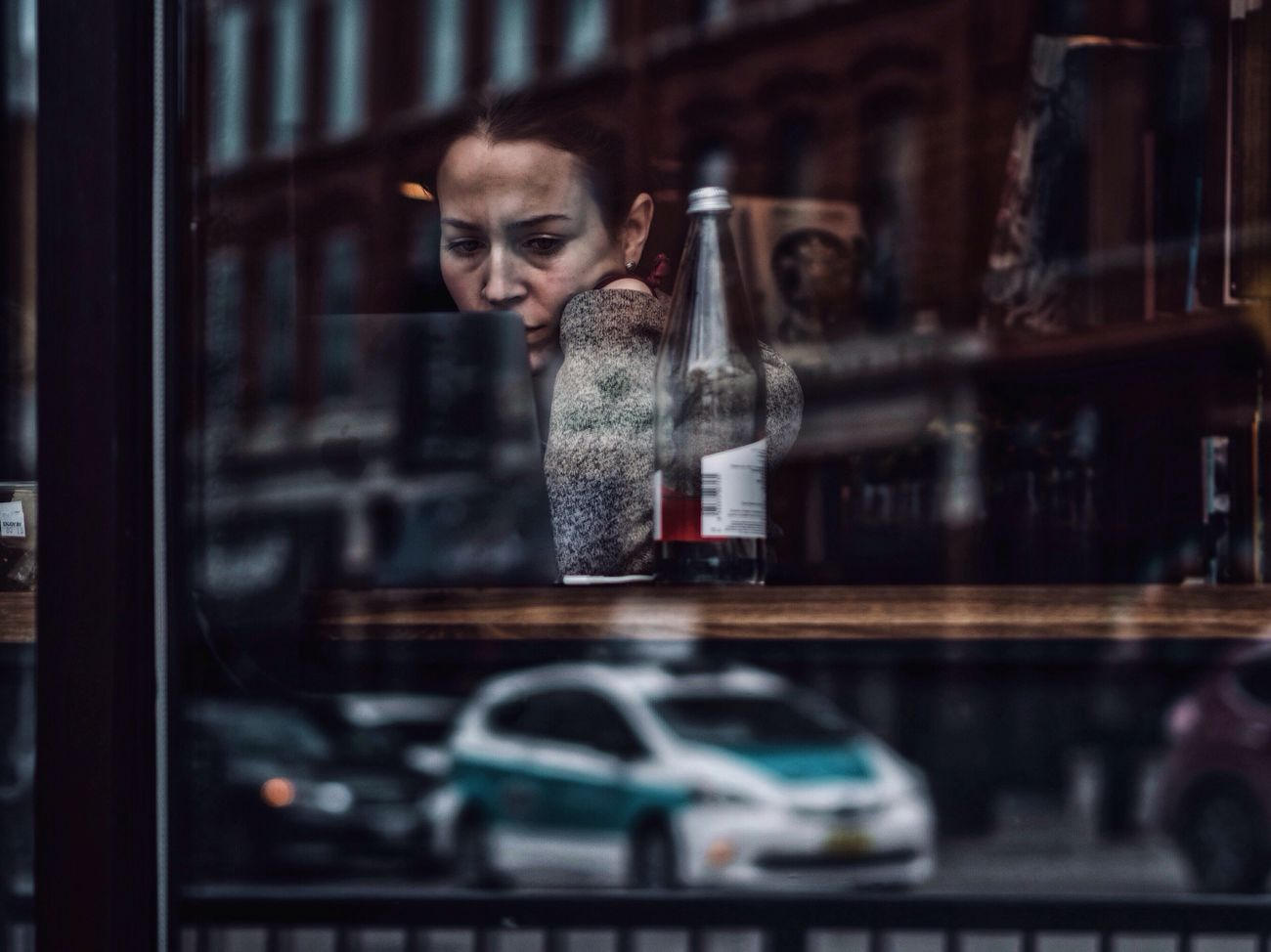 One Person Young Adult Chicago Portrait Reflection Abstract Layers Fine Art Photography Streetphotography EyeEm Best Shots