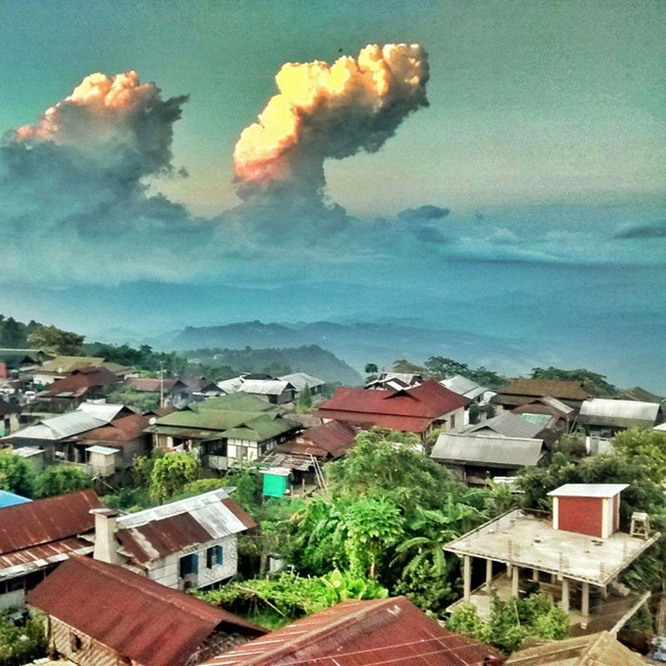 Mopungchuket Village. Brilliant view... NEroadtrip IndiaTrail Nagaland AO