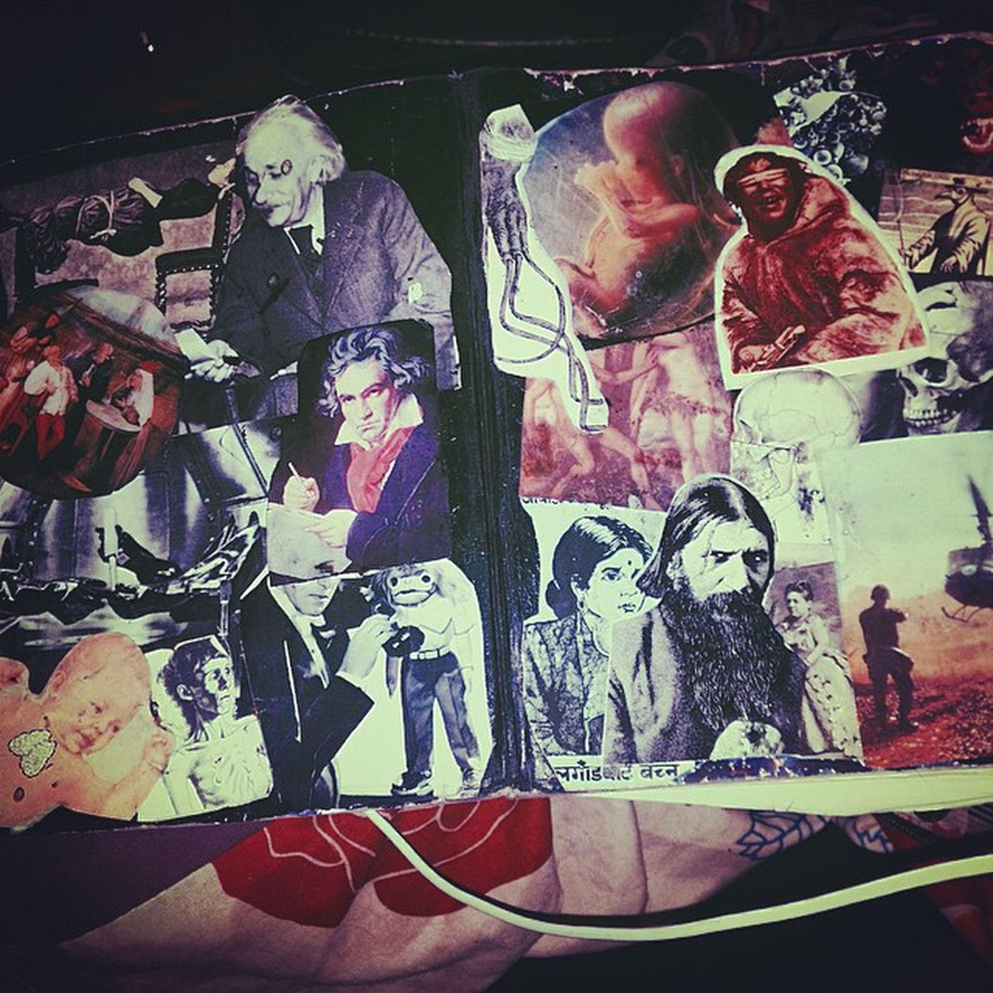 I made my dollar tree notebook look cool. Ithinkitscoolanyway 😚