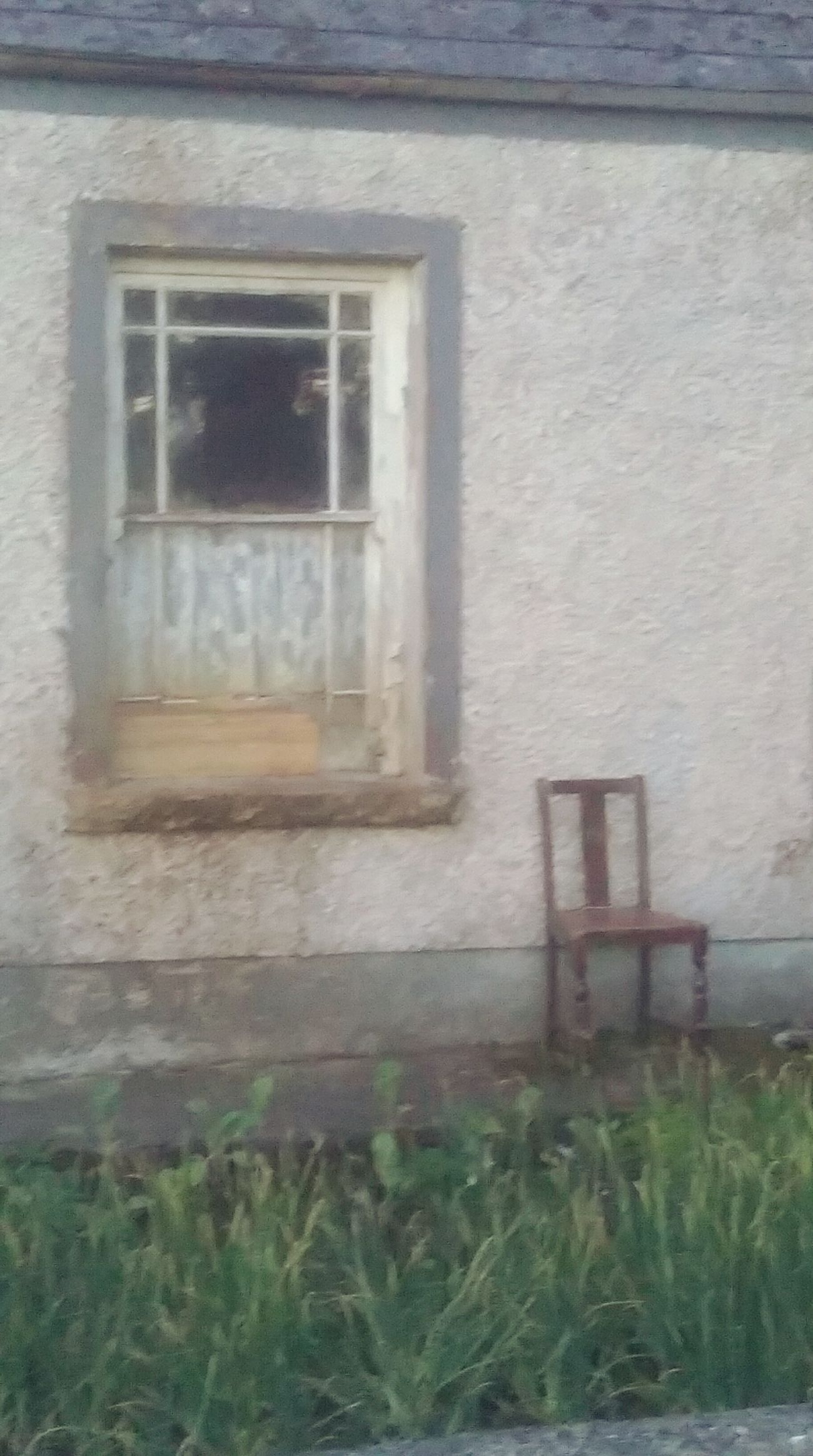 Run Down Places Old Chair Rustic