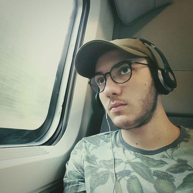 Travel Window Serious Train Music