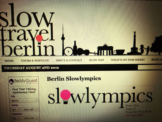 Slowlympics by Stephanie