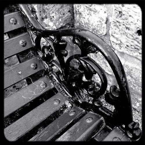 Design Monochrome Wicked Benches Wrought Iron Design
