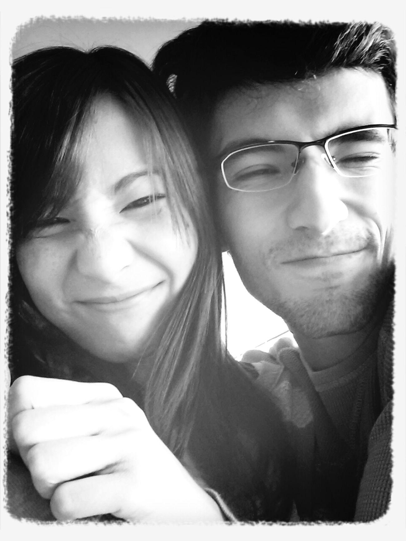Our ugly faces! :P Boyfriend Love Couple