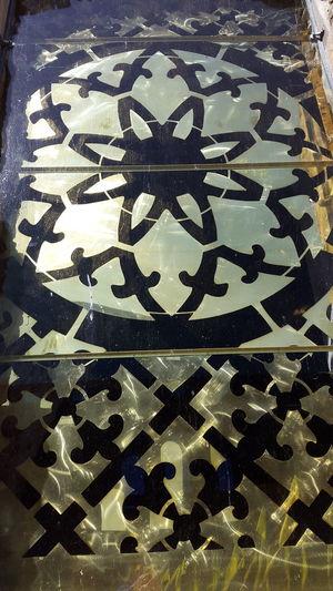 Art Art And Craft Borgholm Borgholms Slottsruin Borgholmslott Brass Creativity Decor Design Full Frame Golden No People Pattern Shiney Metal Surface Shiny Sweden Tourism Window Window Art